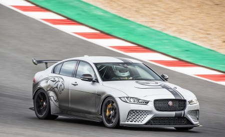 2018 Jaguar XE SV Project 8 Front Three-Quarter Wallpapers 450x275 (37)