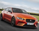 2018 Jaguar XE SV Project 8 Front Wallpapers 150x120 (4)