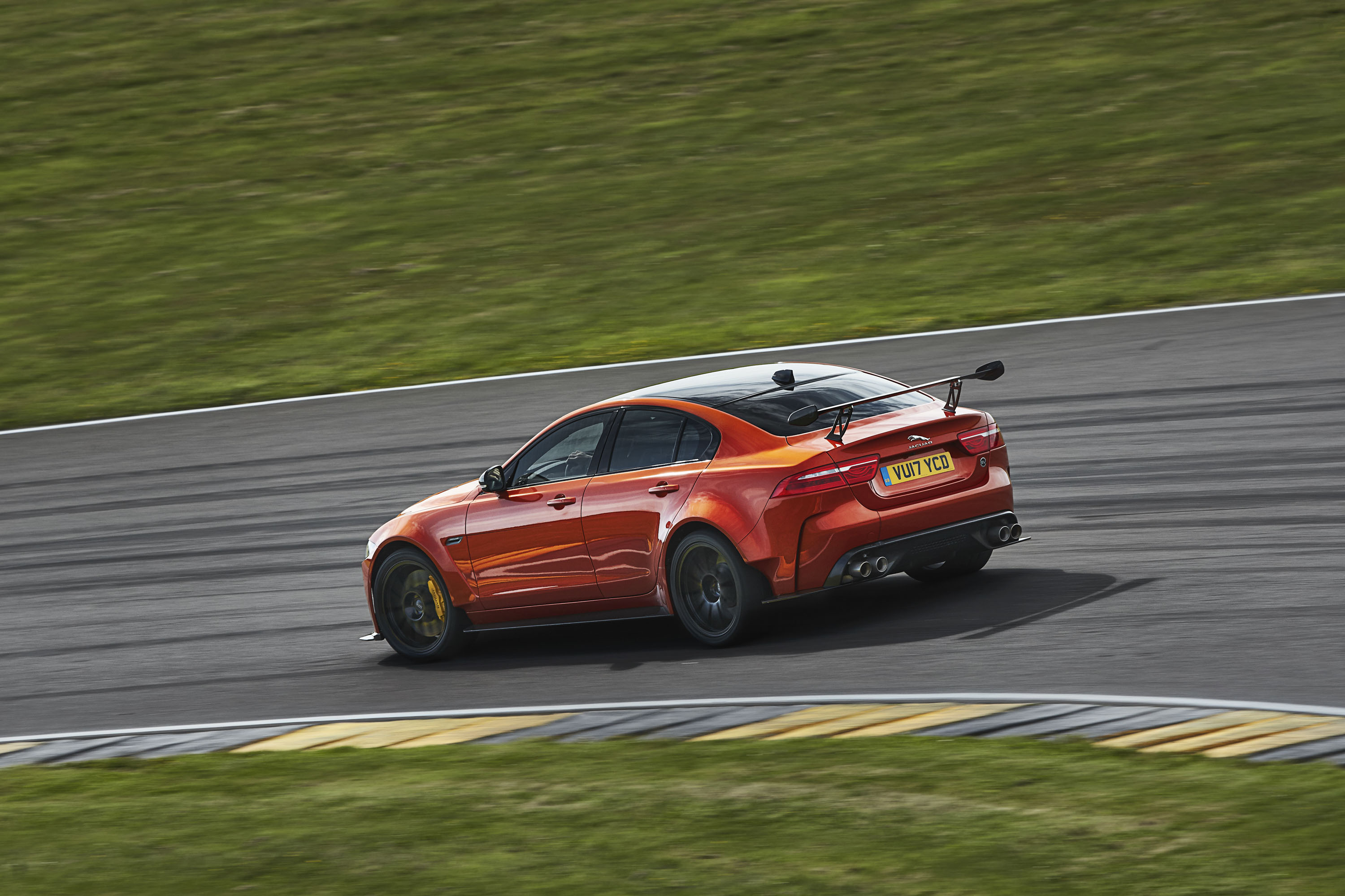 2018 Jaguar XE SV Project 8 Rear Three-Quarter Wallpapers (6)