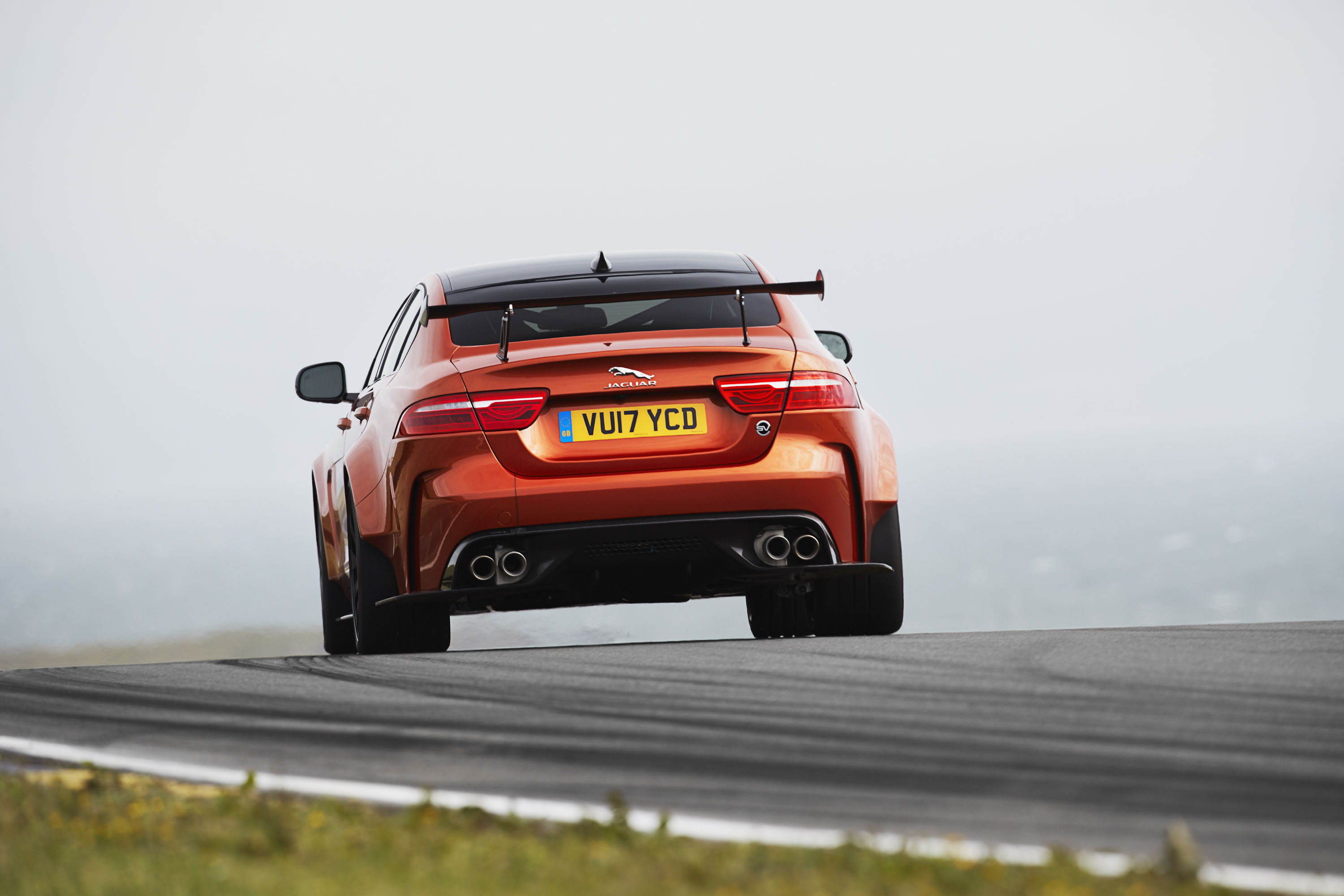 2018 Jaguar XE SV Project 8 Rear Wallpapers (8)