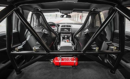 2018 Jaguar XE SV Project 8 Roll Cage Wallpapers 450x275 (114)