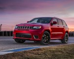 2018 Jeep Grand Cherokee Supercharged Trackhawk Front Three-Quarter Wallpapers 150x120 (20)