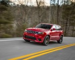 2018 Jeep Grand Cherokee Supercharged Trackhawk Front Three-Quarter Wallpapers 150x120 (6)