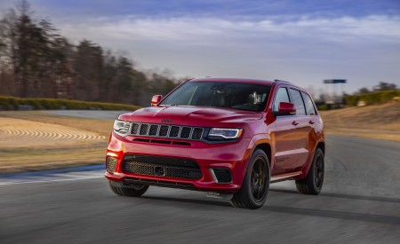 2018 Jeep Grand Cherokee Trackhawk Wallpapers HD