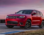 2018 Jeep Grand Cherokee Supercharged Trackhawk Front Three-Quarter Wallpapers 150x120 (12)