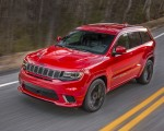 2018 Jeep Grand Cherokee Supercharged Trackhawk Front Three-Quarter Wallpapers 150x120 (7)