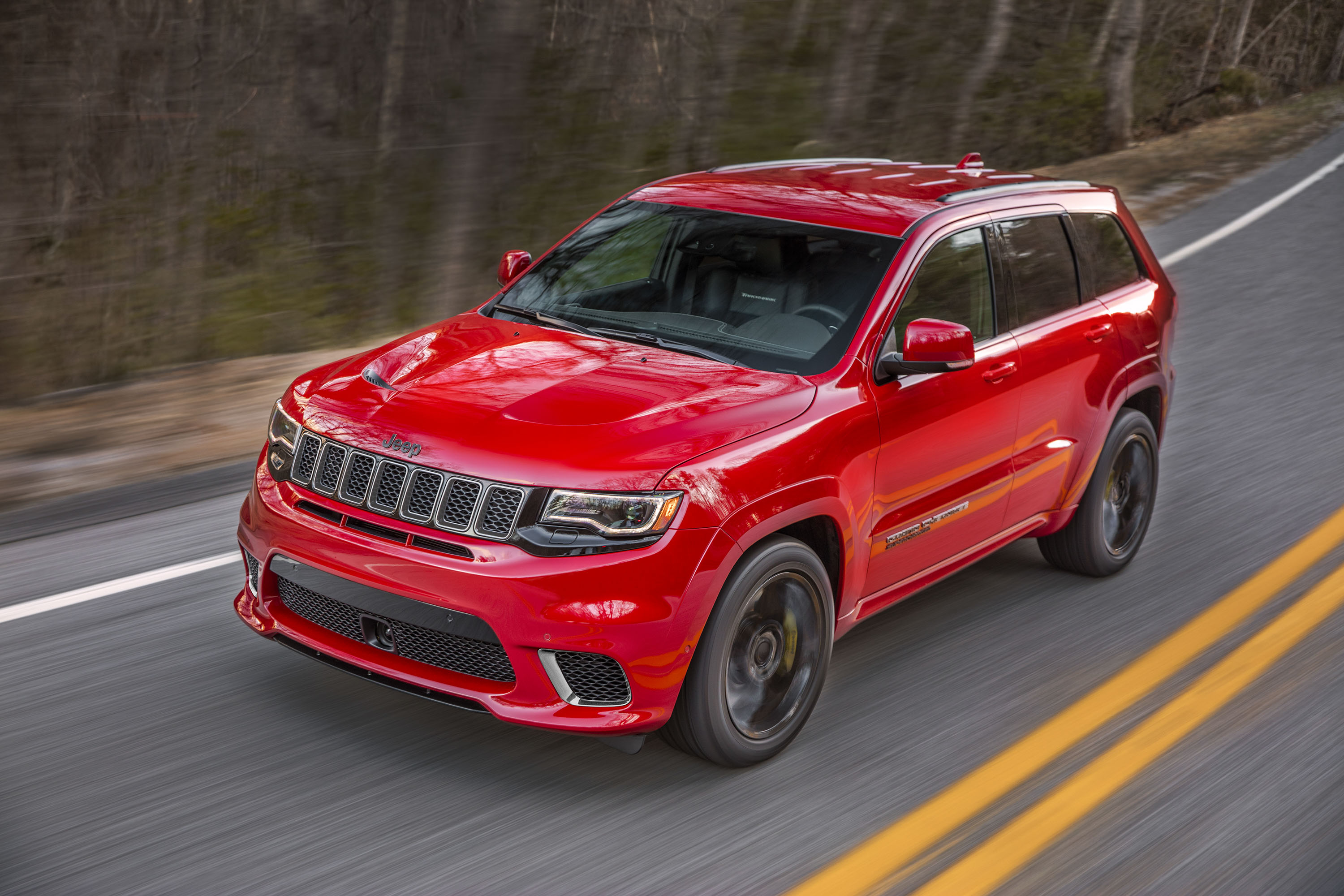 2018 Jeep Grand Cherokee Supercharged Trackhawk Front Three-Quarter Wallpapers (7)
