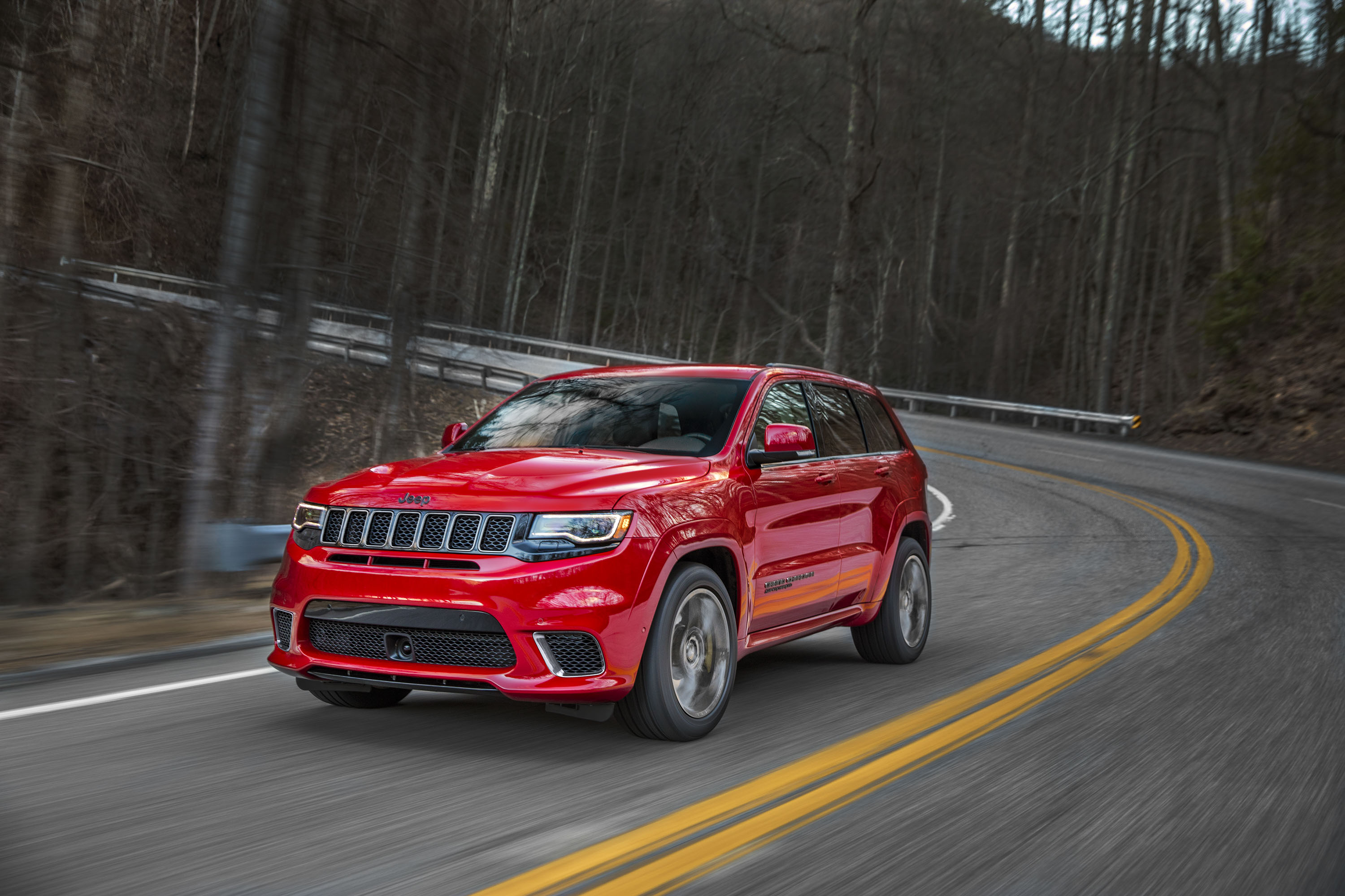 2018 Jeep Grand Cherokee Supercharged Trackhawk Front Wallpapers (8)