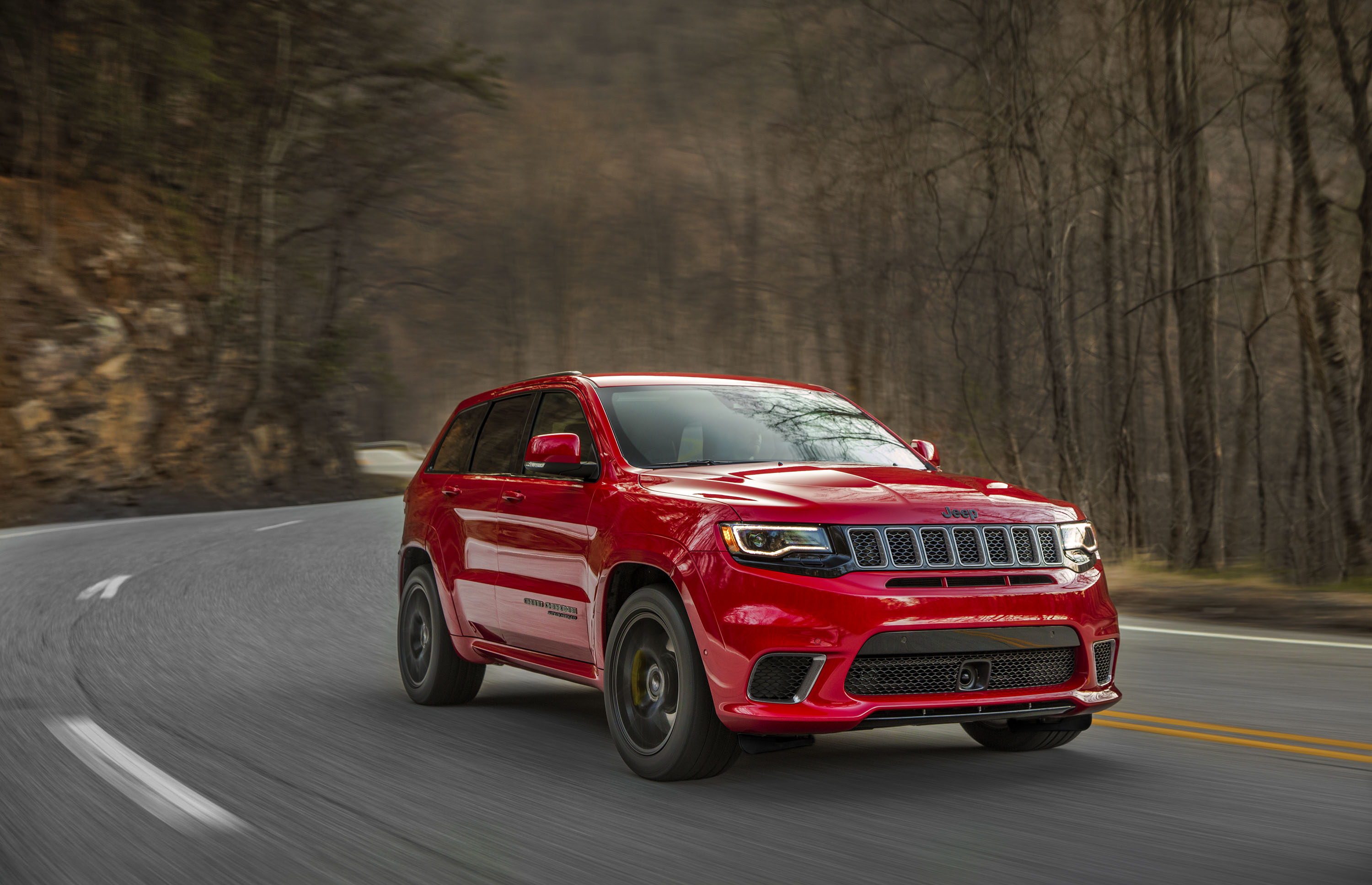 2018 Jeep Grand Cherokee Supercharged Trackhawk Front Wallpapers (4)