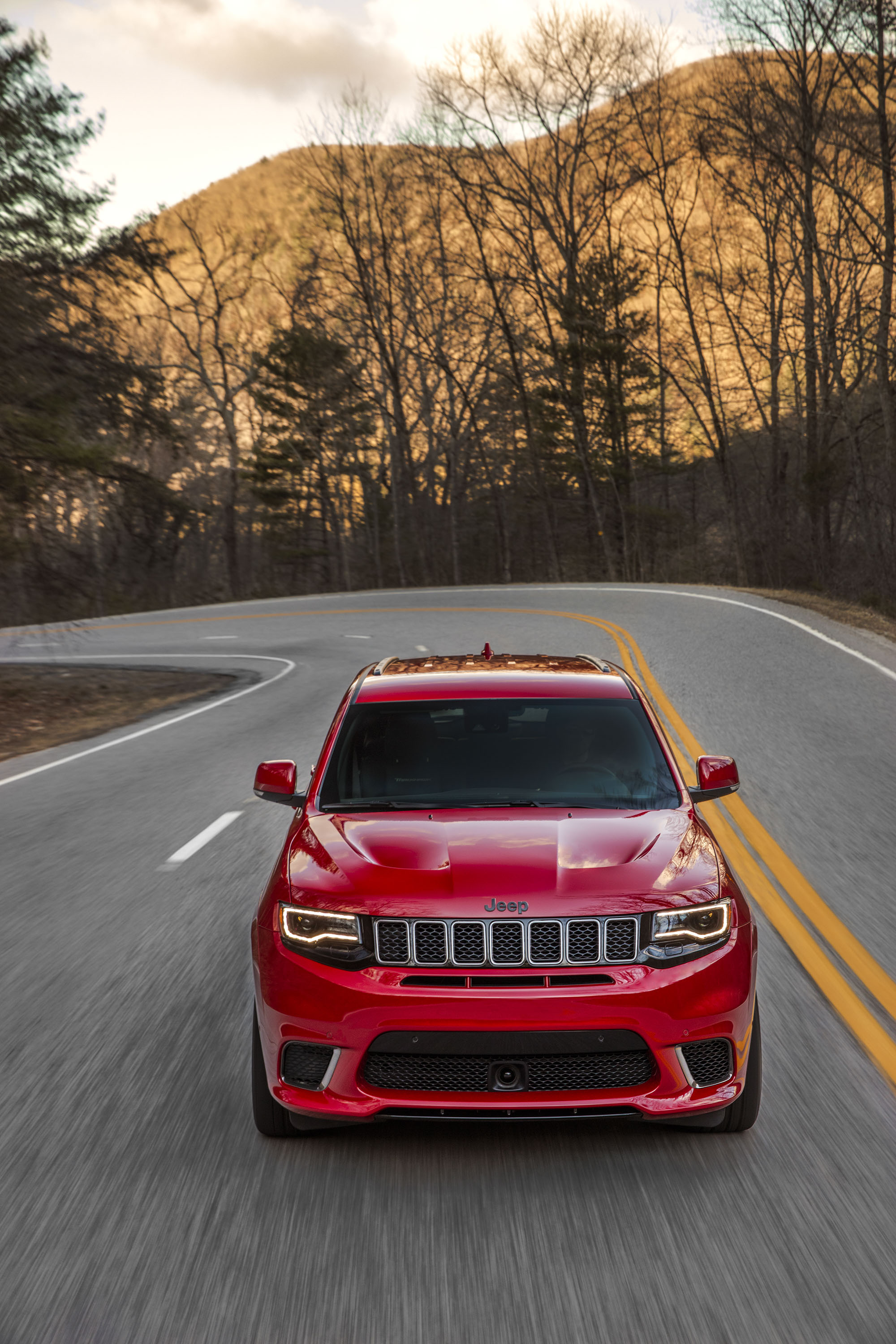 2018 Jeep Grand Cherokee Supercharged Trackhawk Front Wallpapers (9)