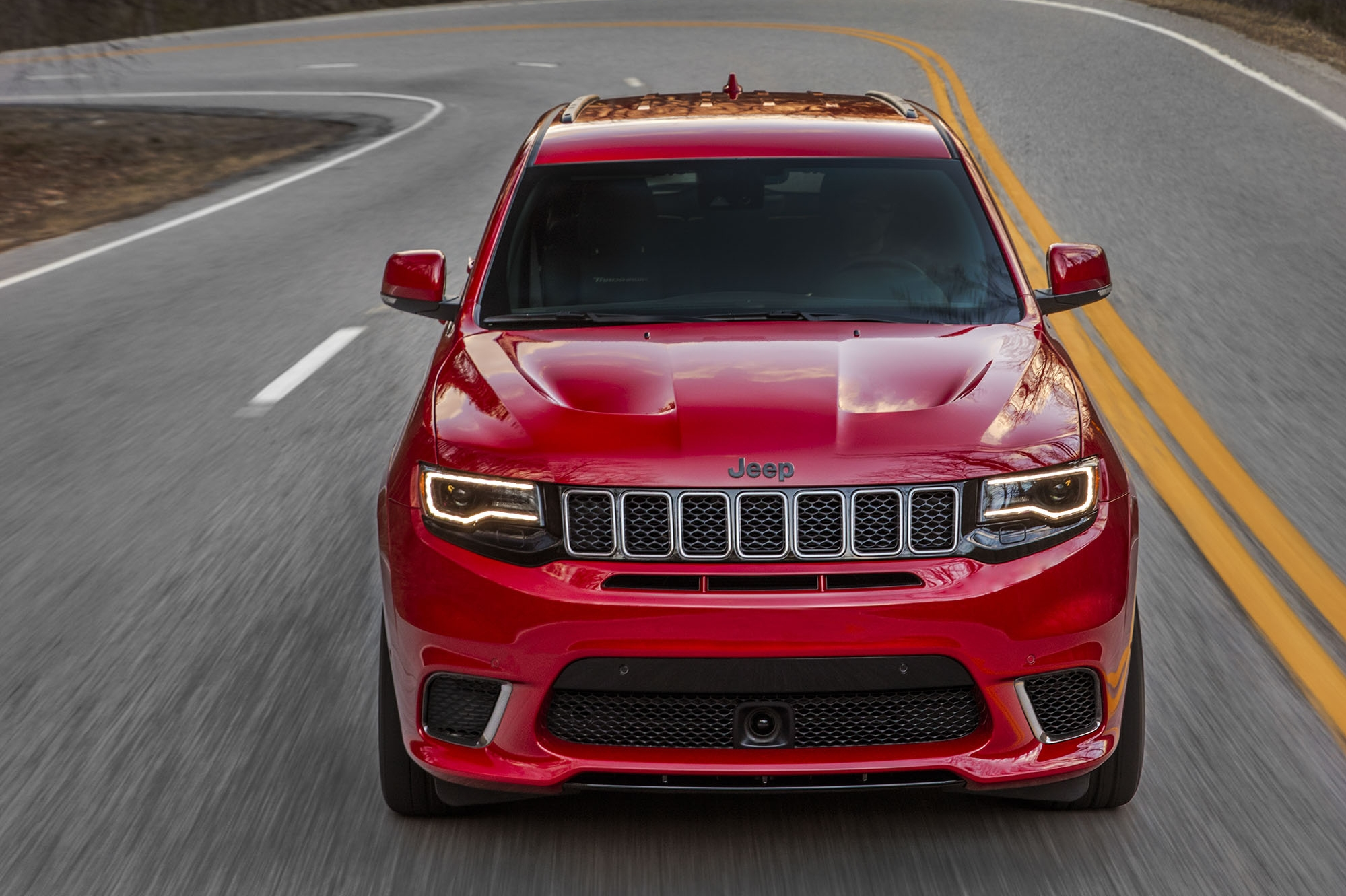 2018 Jeep Grand Cherokee Supercharged Trackhawk Front Wallpapers (2)
