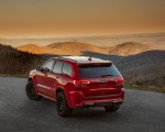 2018 Jeep Grand Cherokee Supercharged Trackhawk Rear Three-Quarter Wallpapers 150x120 (22)