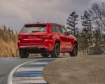 2018 Jeep Grand Cherokee Supercharged Trackhawk Rear Three-Quarter Wallpapers 150x120 (14)