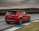 2018 Jeep Grand Cherokee Supercharged Trackhawk Rear Three-Quarter Wallpapers 150x120 (15)
