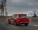 2018 Jeep Grand Cherokee Supercharged Trackhawk Rear Three-Quarter Wallpapers 150x120 (10)