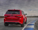 2018 Jeep Grand Cherokee Supercharged Trackhawk Rear Three-Quarter Wallpapers 150x120 (5)