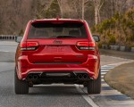 2018 Jeep Grand Cherokee Supercharged Trackhawk Rear Wallpapers 150x120 (16)
