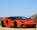 2018 Lamborghini Aventador S Roadster Front Wallpapers 150x120 (6)