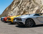 2018 Lamborghini Aventador S Roadster Rear Three-Quarter Wallpapers 150x120 (26)