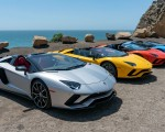 2018 Lamborghini Aventador S Roadster Side Wallpapers 150x120 (8)
