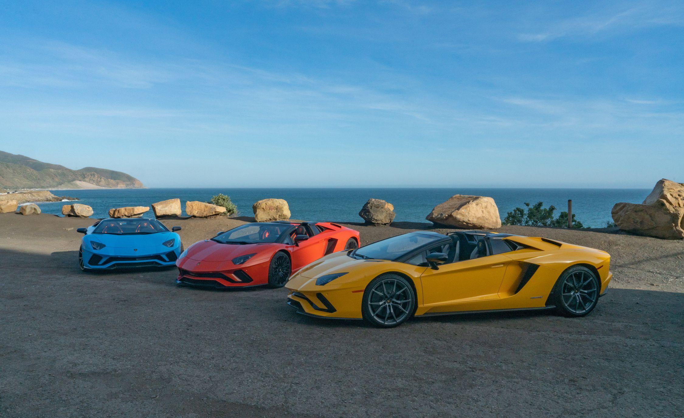 2018 Lamborghini Aventador S Roadster Wallpapers 20