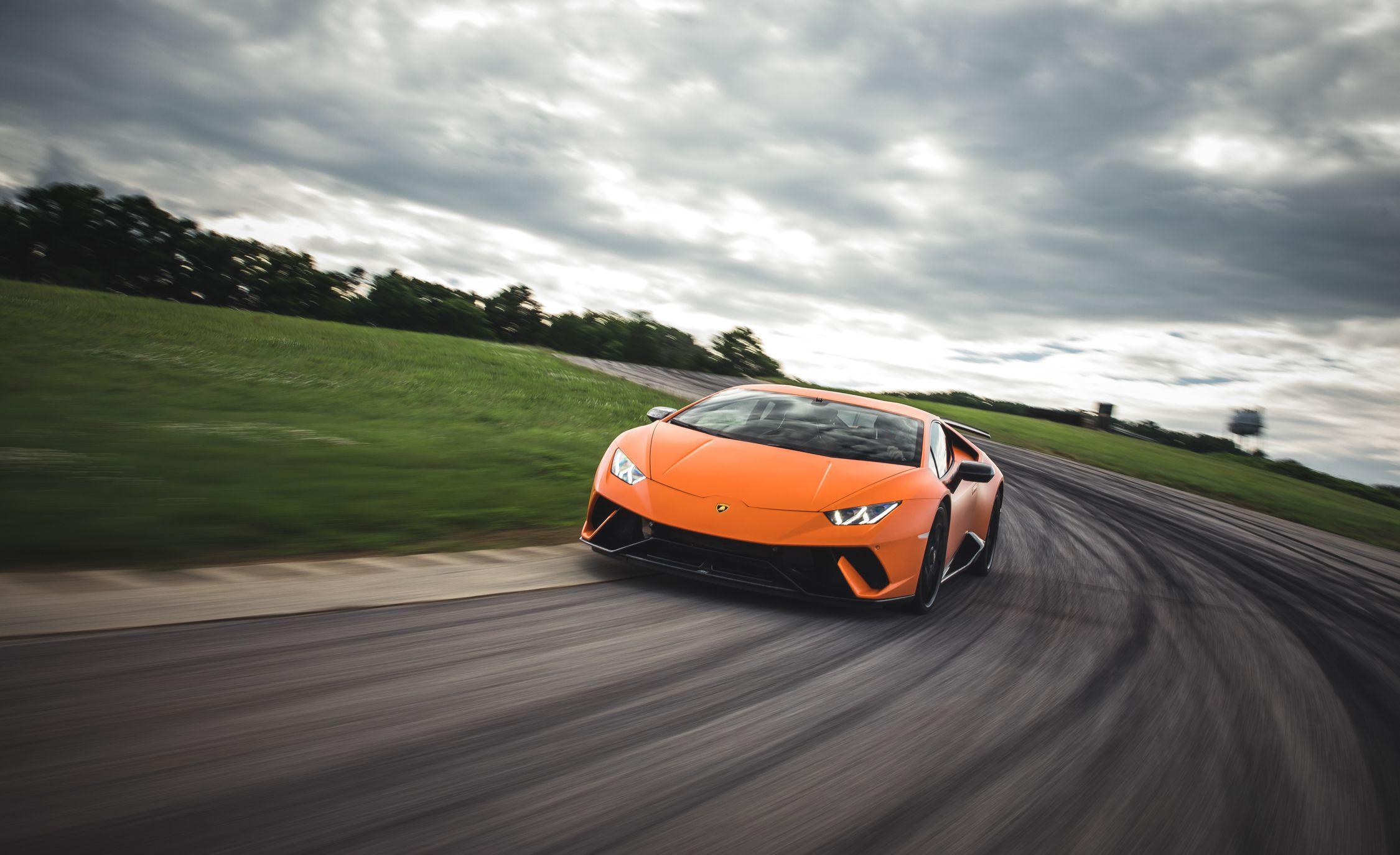 2018 Lamborghini Huracán Performante Front Wallpaper (12)
