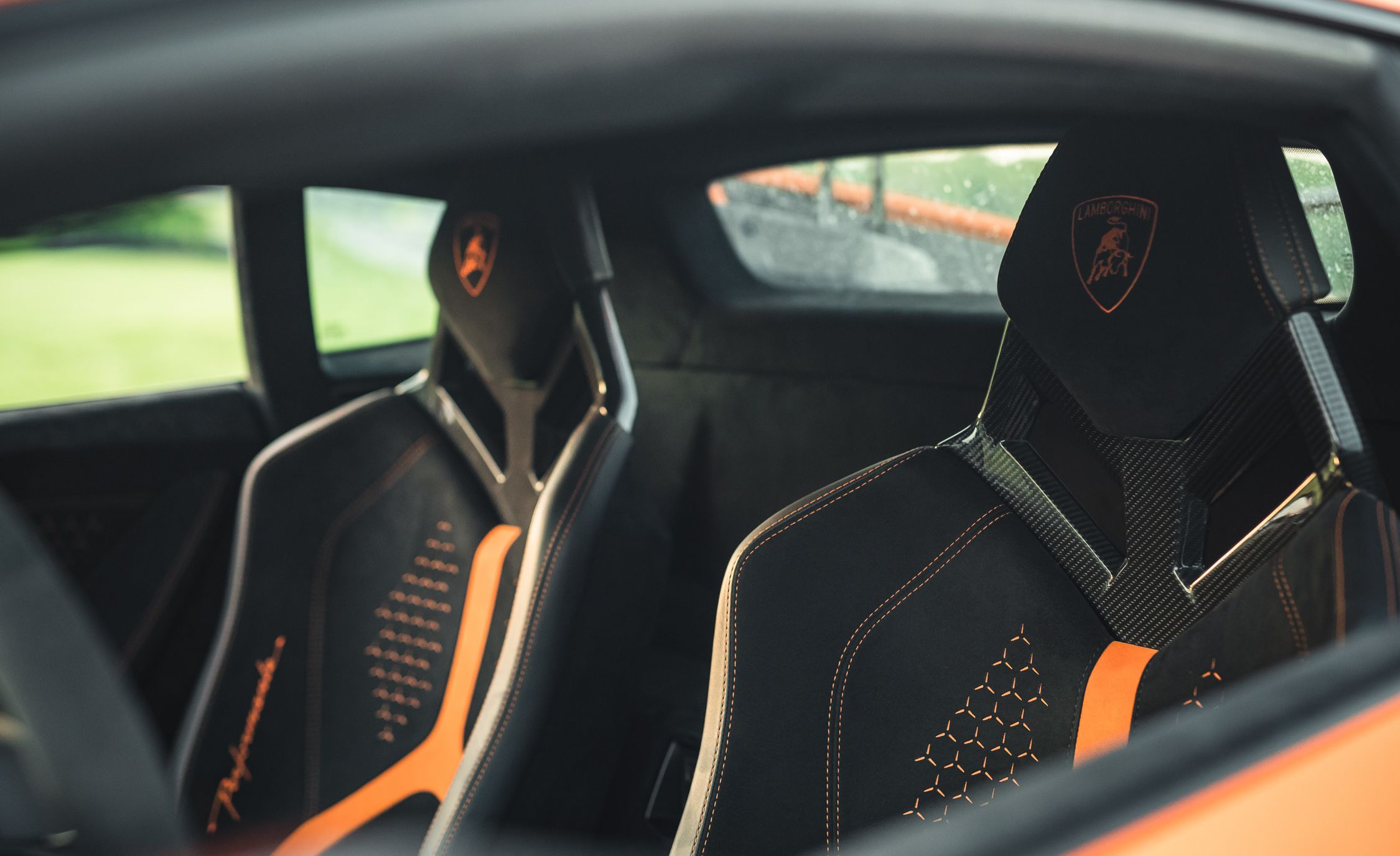 2018 Lamborghini Huracan Performante Interior Cockpit Wallpaper 39