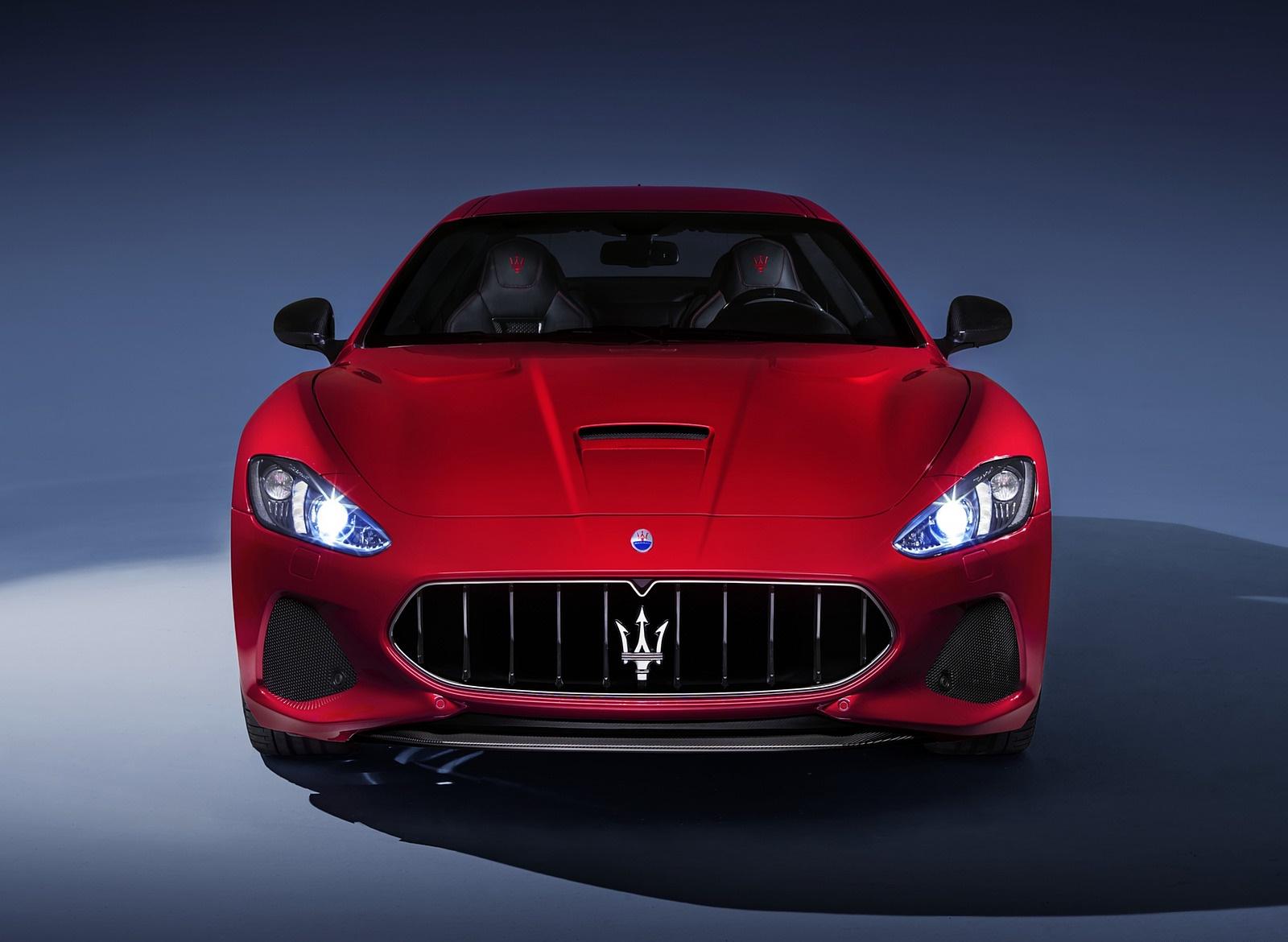 2018 Maserati GranTurismo MC Sport Line Front Wallpapers (5)