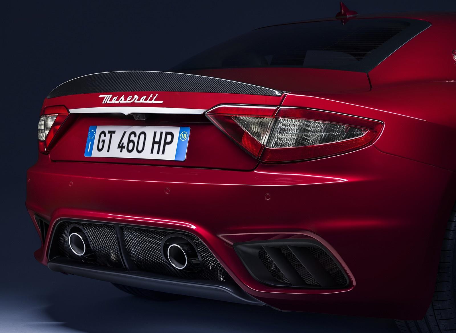 2018 Maserati GranTurismo MC Sport Line Rear Bumper Wallpapers (9)