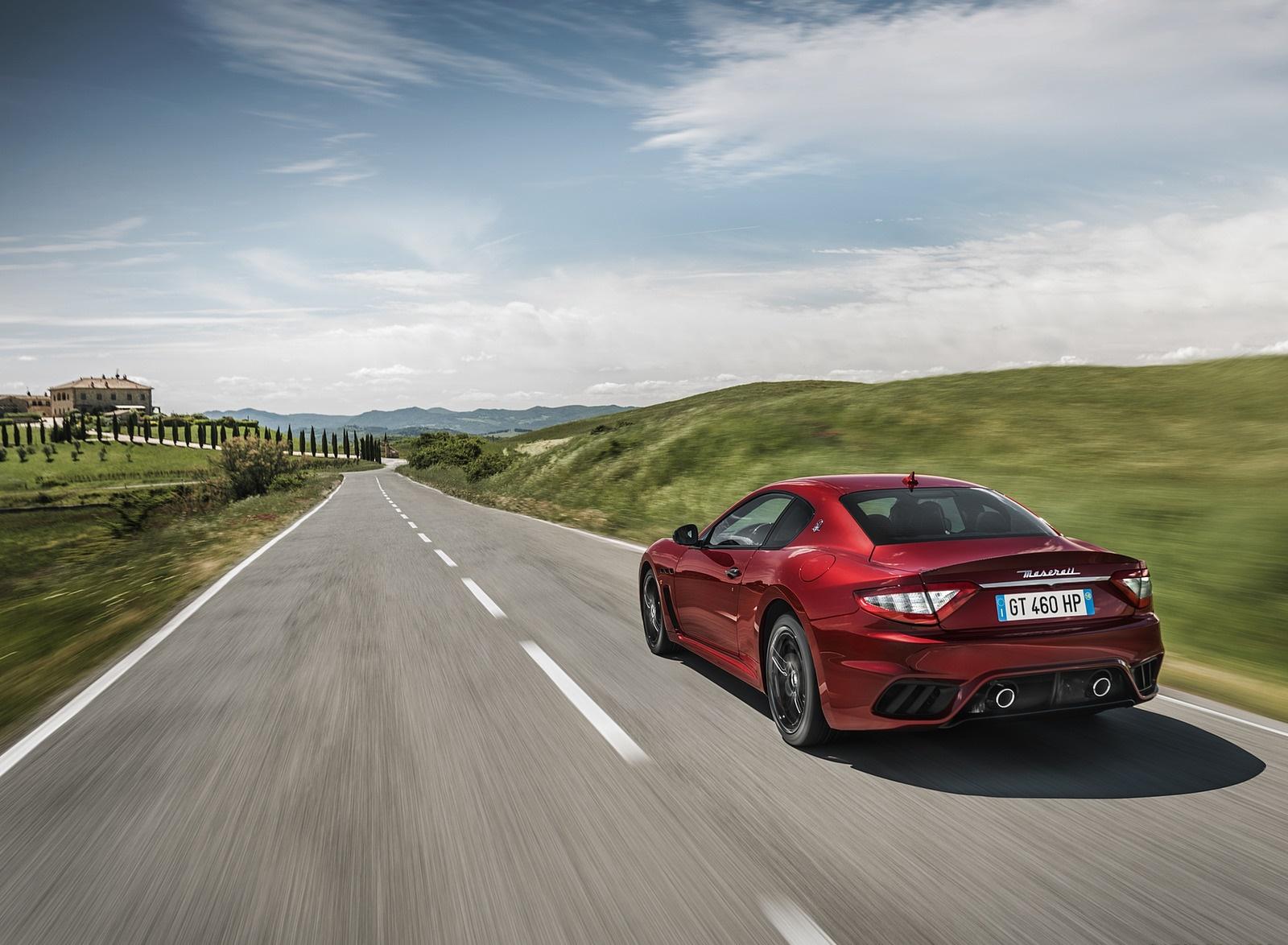 2018 Maserati GranTurismo MC Sport Line Rear Three-Quarter Wallpapers (3)