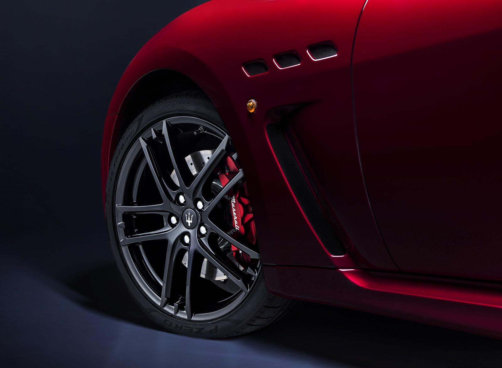 2018 Maserati GranTurismo MC Sport Line Wheel Wallpapers (8)
