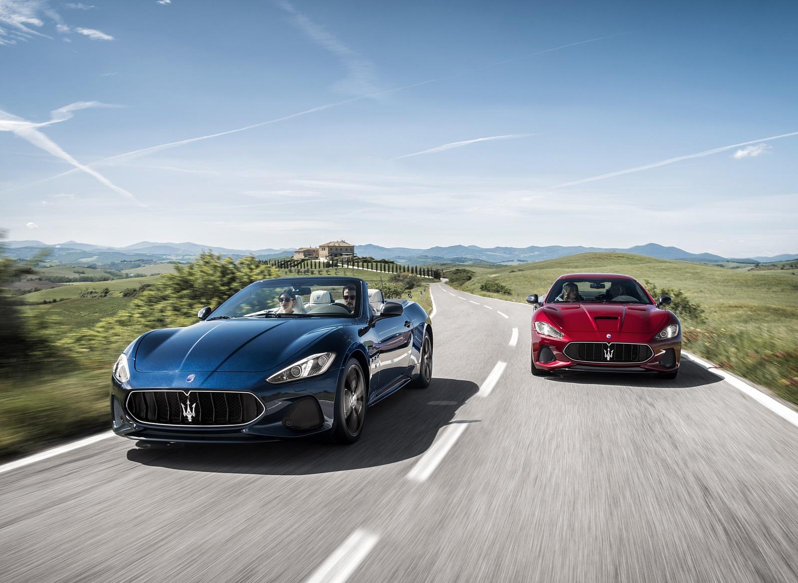 2018 Maserati GranTurismo MC Sport Line and GranCabrio Wallpapers (2)