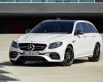 2018 Mercedes-AMG E63 S Wagon 4MATIC+ (Color: Diamond White) Front Three-Quarter Wallpapers 150x120 (31)