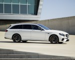 2018 Mercedes-AMG E63 S Wagon 4MATIC+ (Color: Diamond White) Side Wallpapers 150x120 (32)