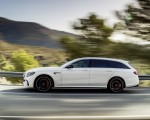 2018 Mercedes-AMG E63 S Wagon 4MATIC+ (Color: Diamond White) Side Wallpapers 150x120 (24)