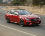 2018 Mercedes-AMG E63 S Wagon Front Three-Quarter Wallpapers 150x120 (3)