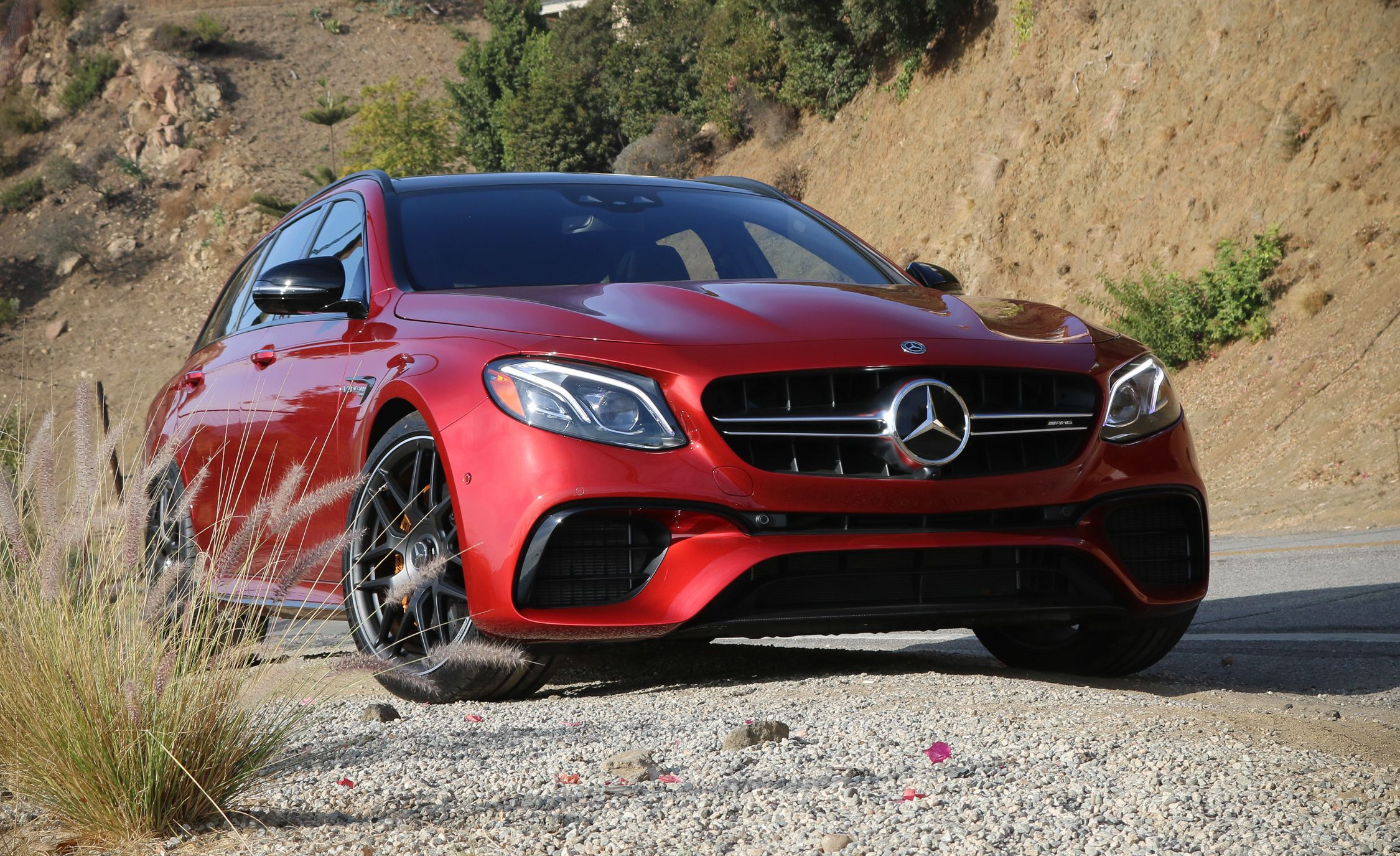 2018 Mercedes-AMG E63 S Wagon Front Wallpapers (9)
