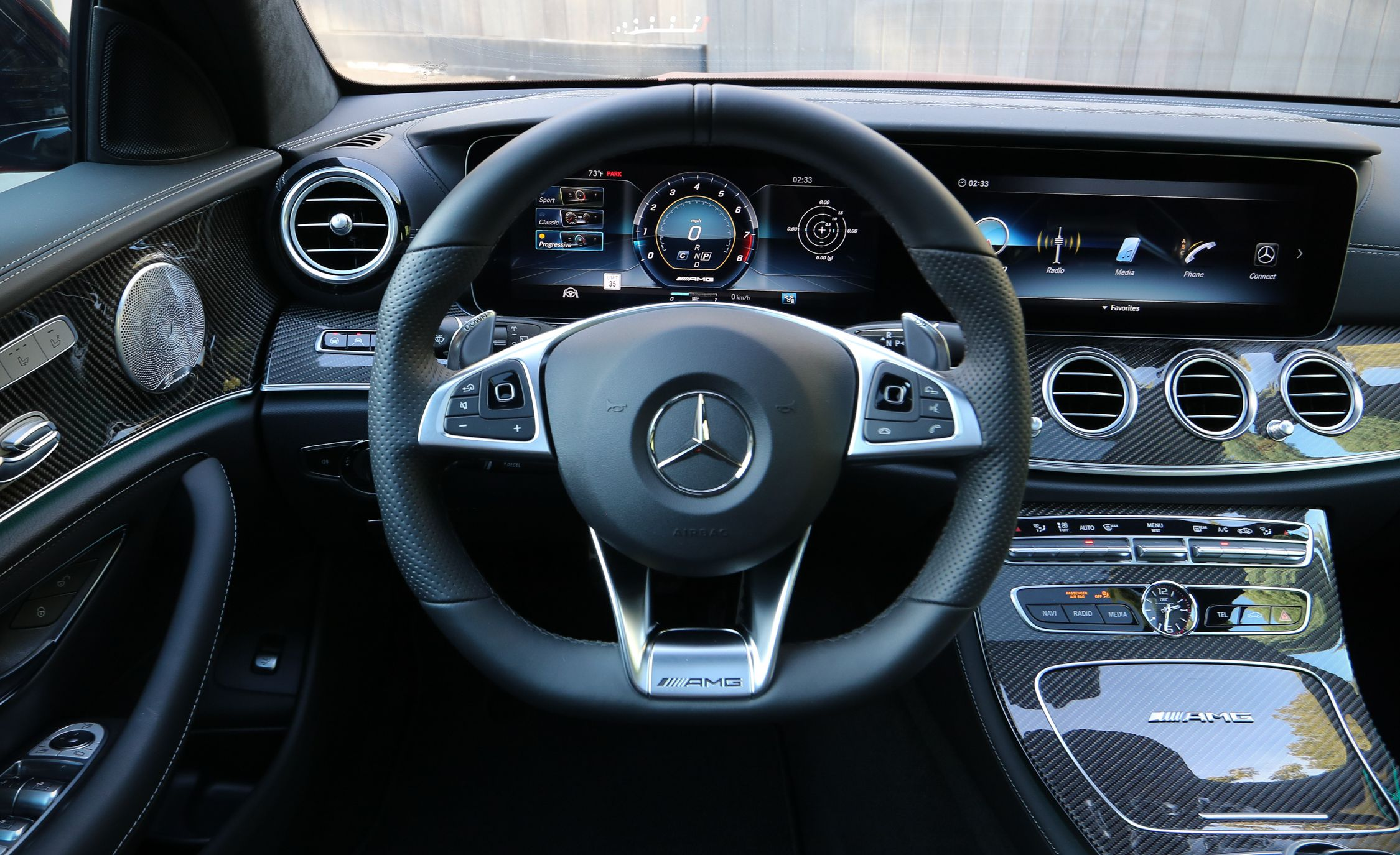 2018 Mercedes Amg E63 S Wagon Interior Pit Wallpaper