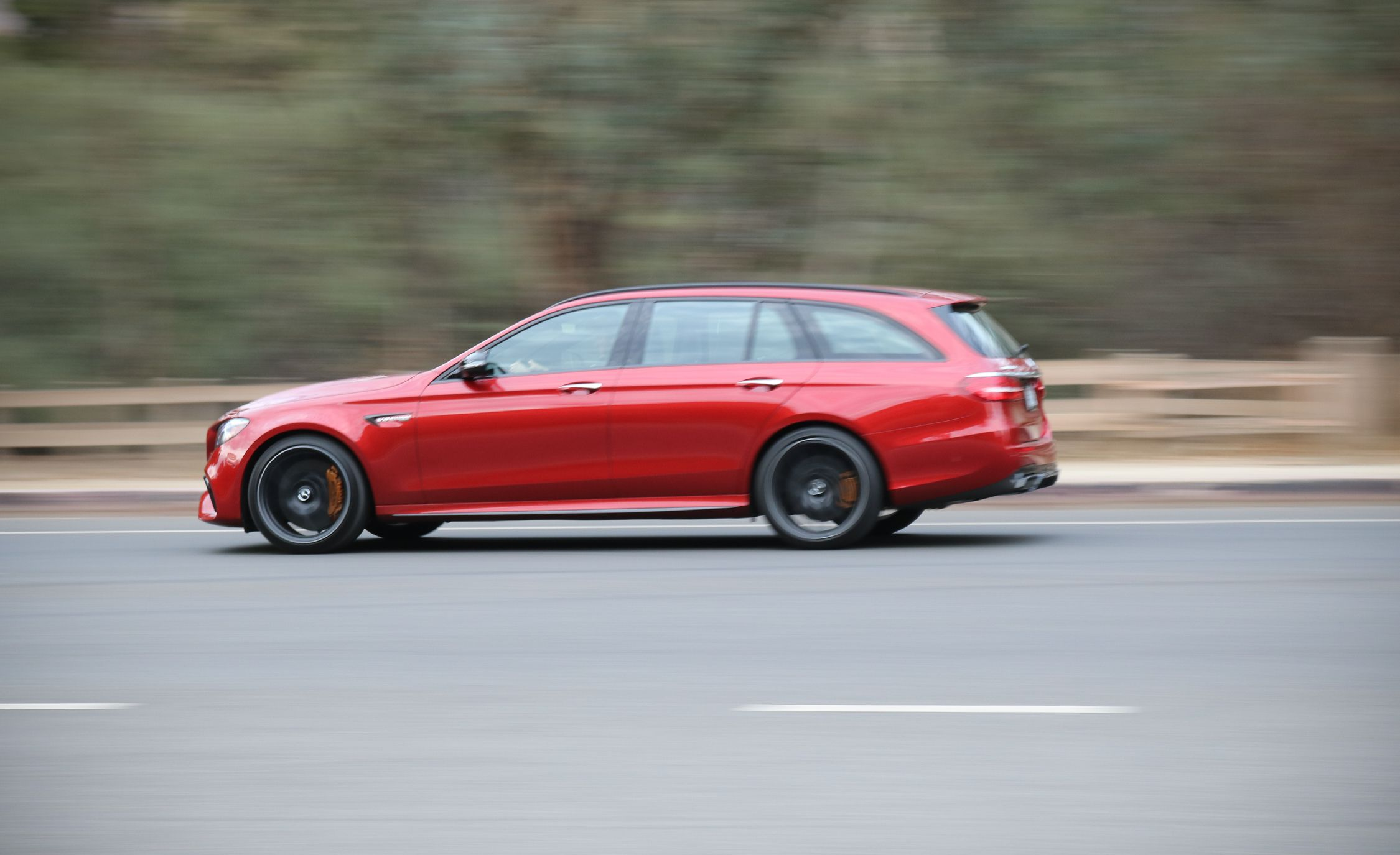 2018 Mercedes-AMG E63 S Wagon Side Wallpapers (6)