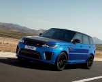 2018 Range Rover Sport SVR Front Three-Quarter Wallpapers 150x120 (19)