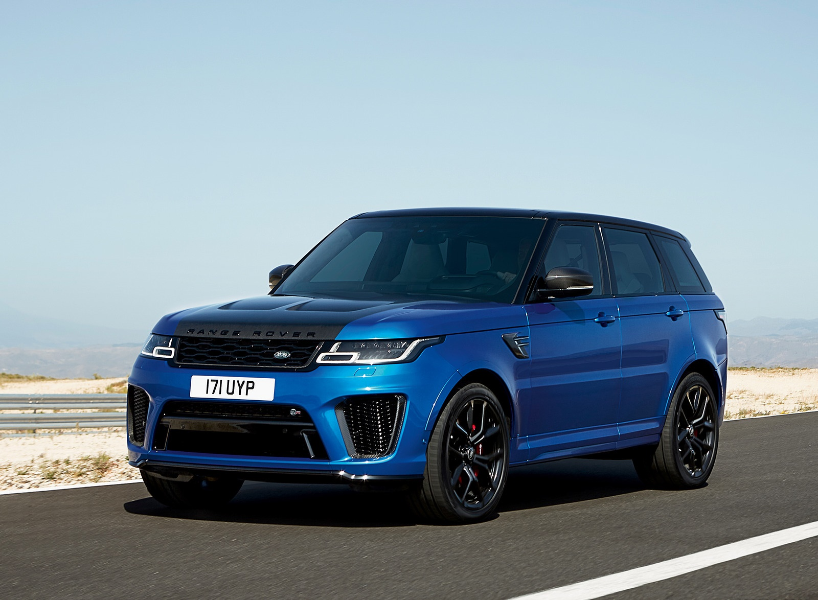 2018 Range Rover Sport SVR Front Three-Quarter Wallpapers (13)