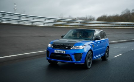 2018 Range Rover Sport SVR Wallpapers