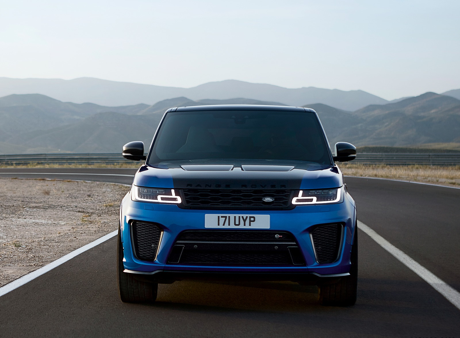 2018 Range Rover Sport SVR Front Wallpapers (15)