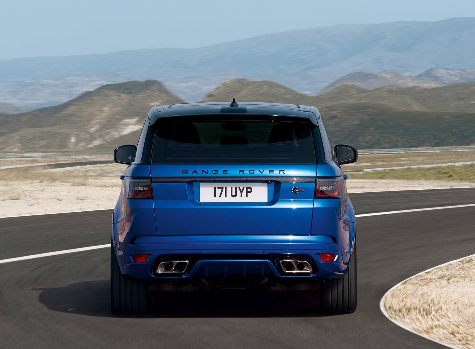 2018 Range Rover Sport SVR Rear Wallpapers (14)