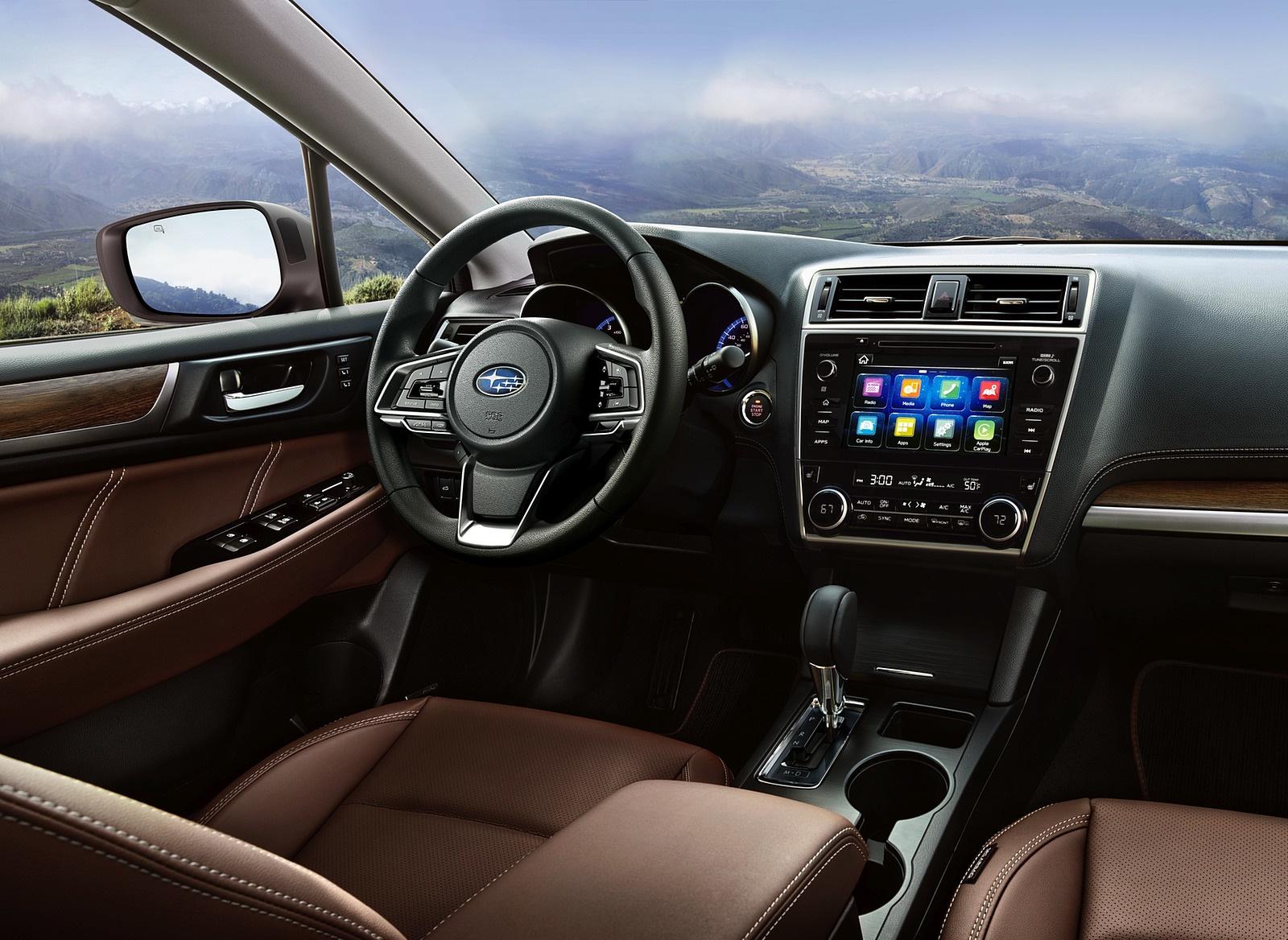 2018 Subaru Outback Interior Cockpit Wallpaper (12)