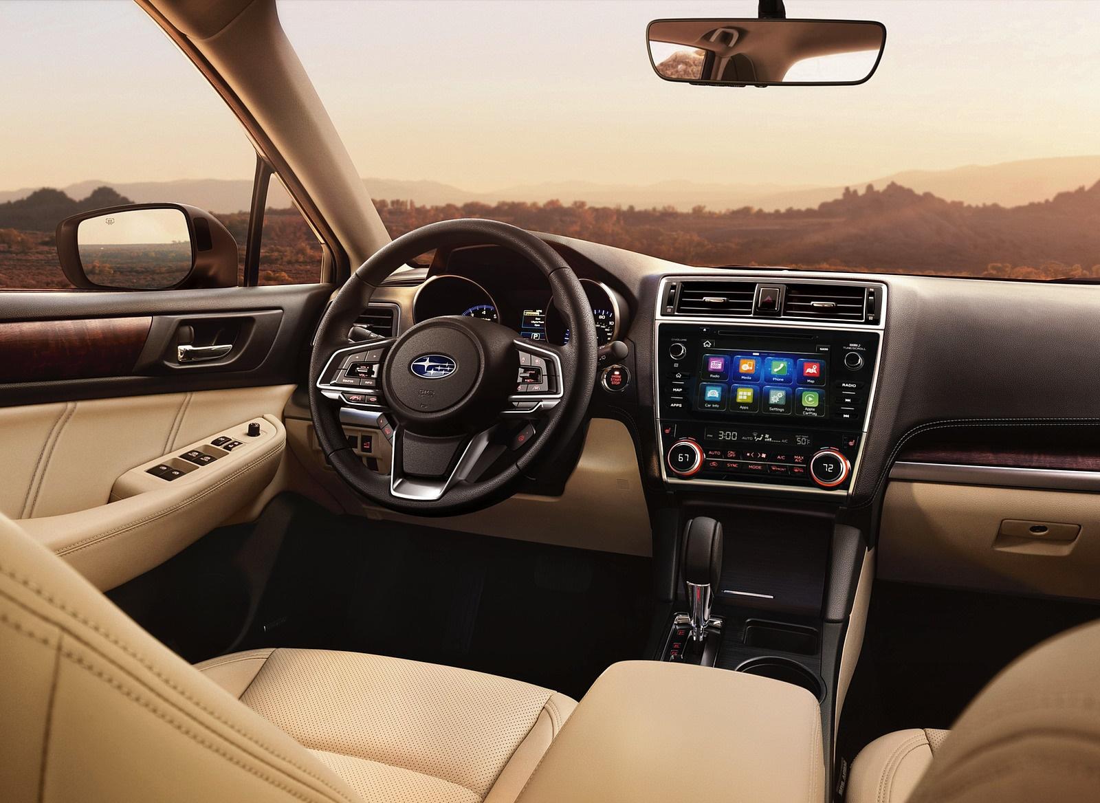 2018 Subaru Outback Interior Wallpaper (13)