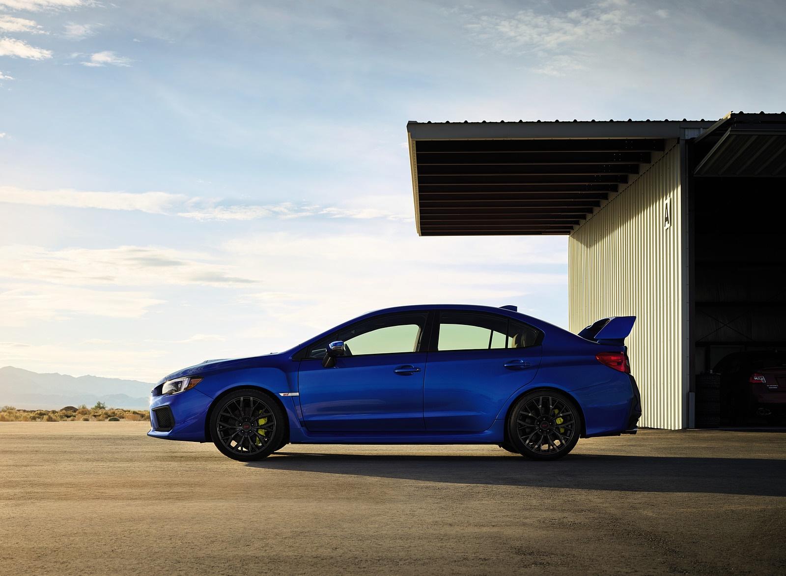 2018 Subaru WRX STI Side Wallpapers (7)