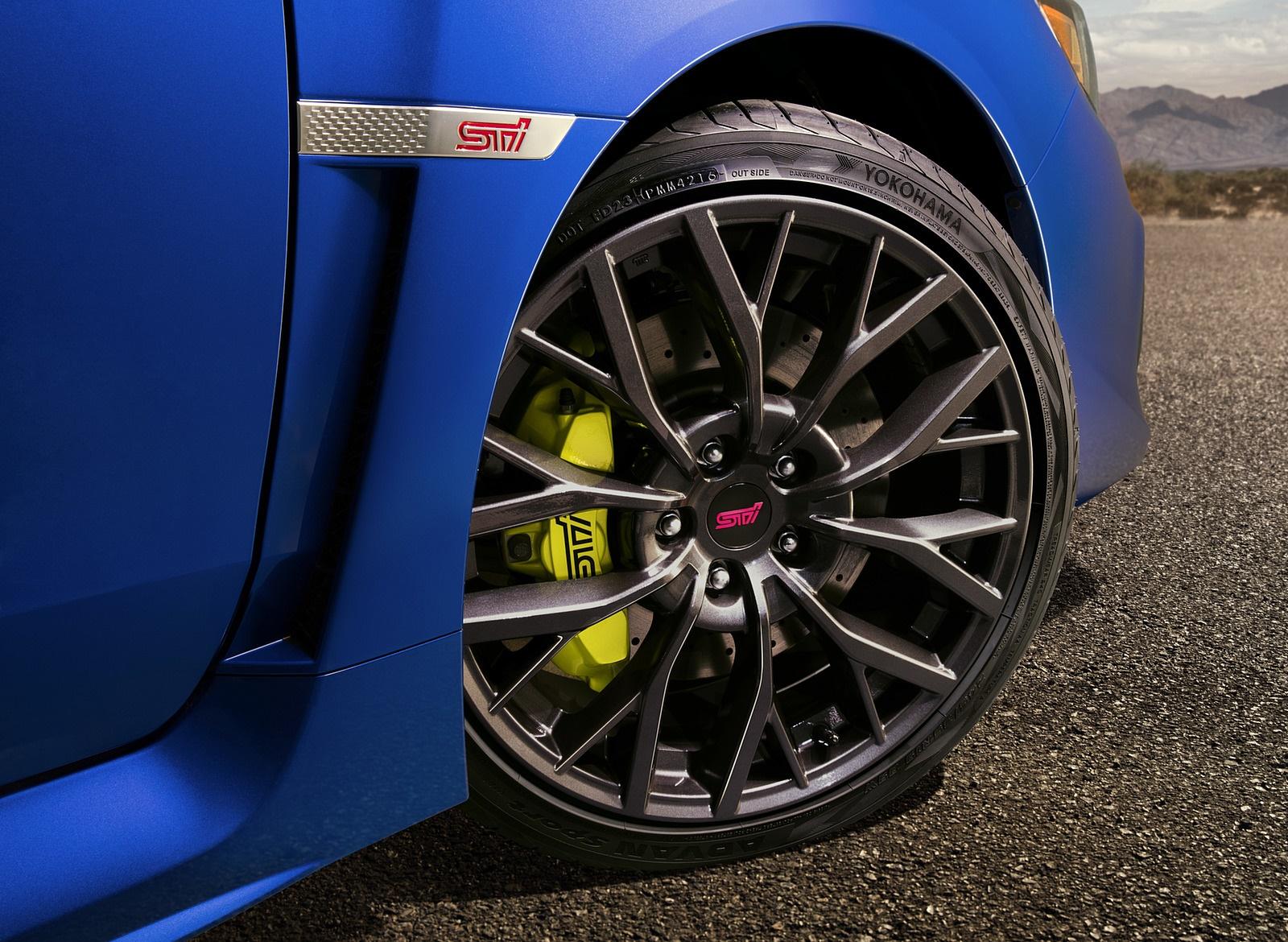 2018 Subaru WRX STI Wheel Wallpapers (8)