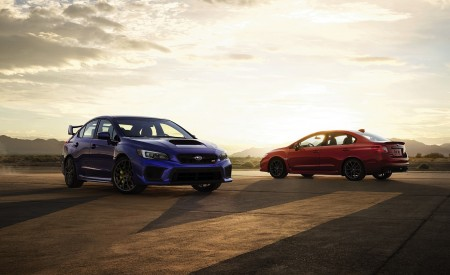 2018 Subaru WRX And WRX STI Wallpapers HD