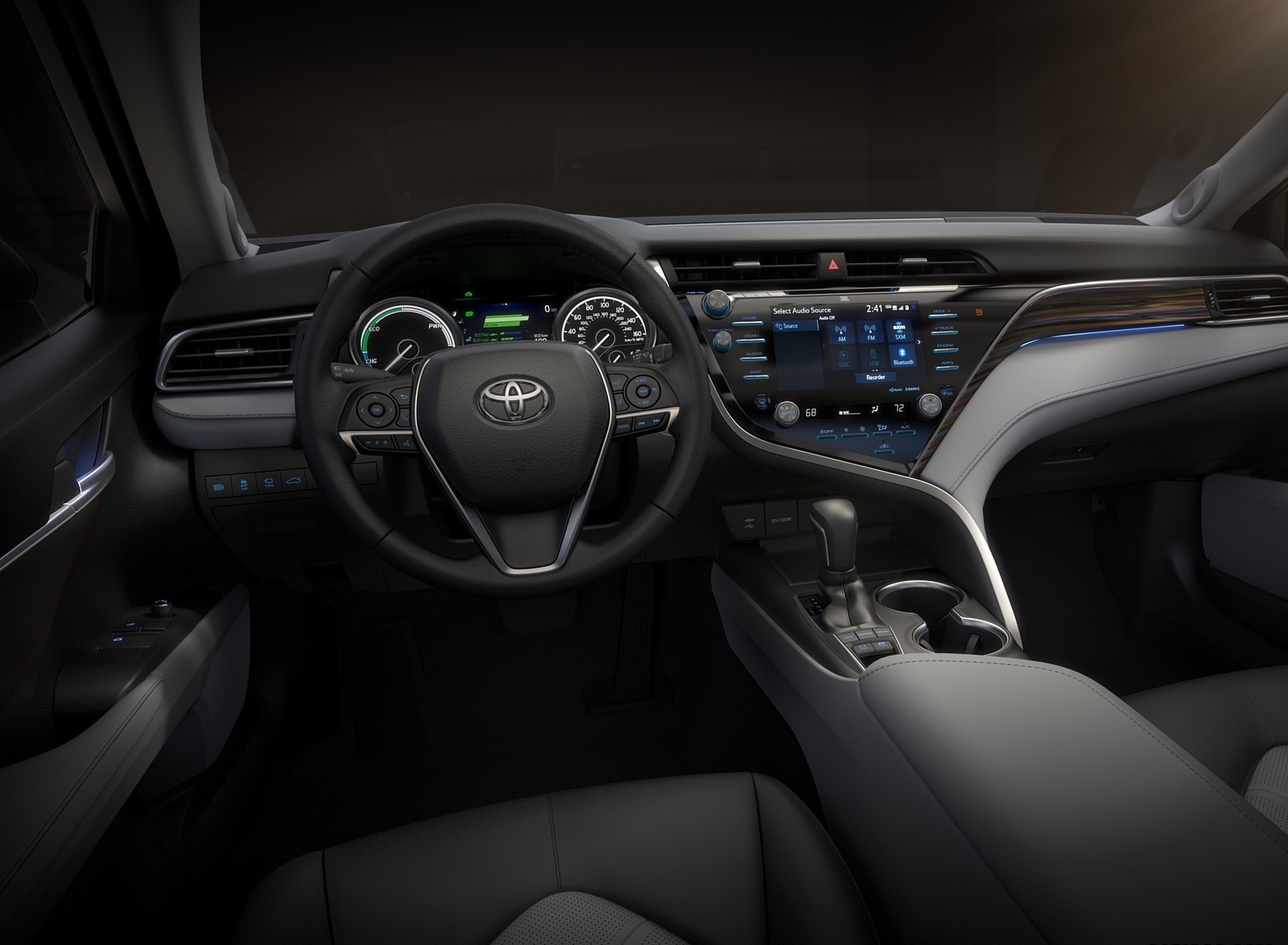 2018 Toyota Camry XSE Interior Cockpit Wallpapers (11)